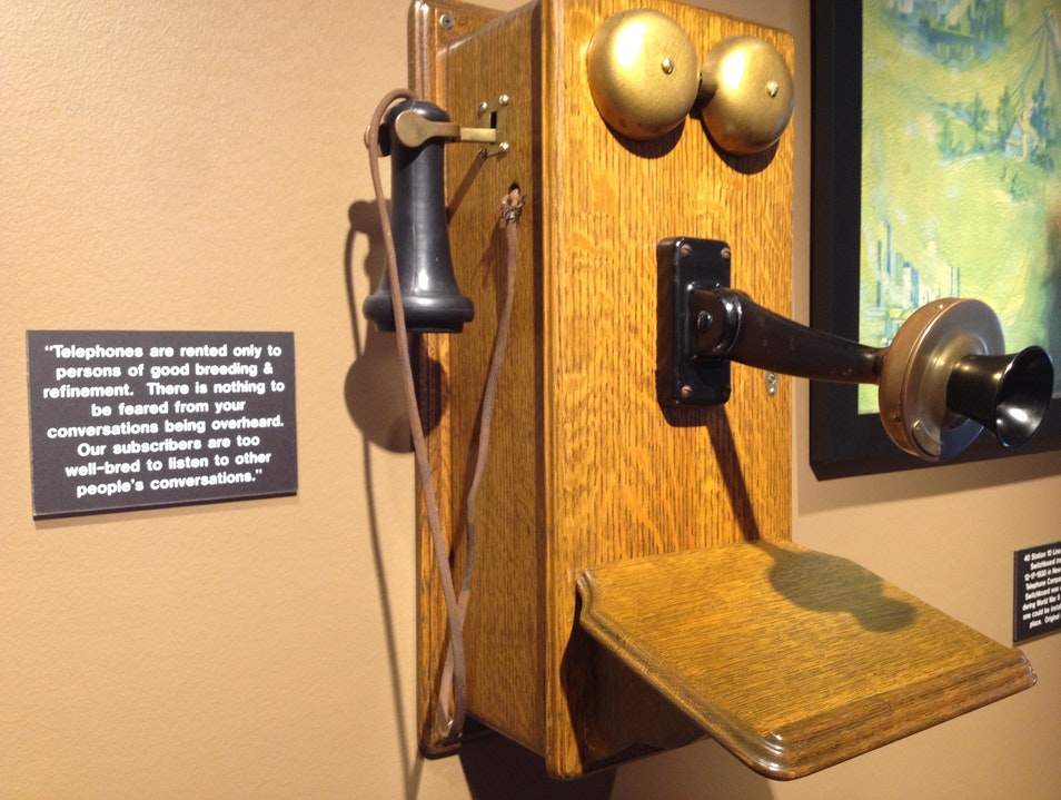 Hello? History Ringing Bellaire Texas United States