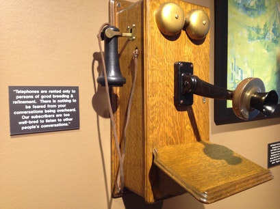 Telephone History Exhibit Bellaire Texas United States