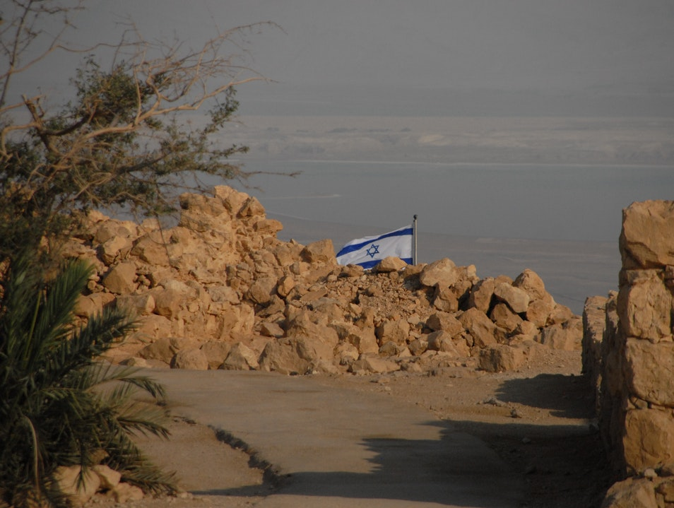 View of the Dead Sea from Masada   Earth