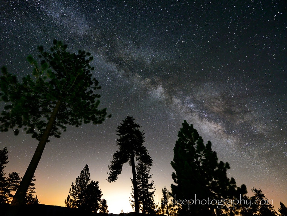 Camping Under The Milky Way near Los Angeles? Yes!!!!!!