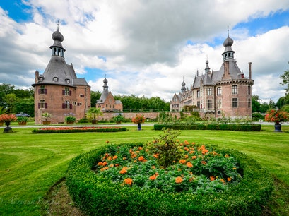 Castle of Ooidonk Deinze  Belgium
