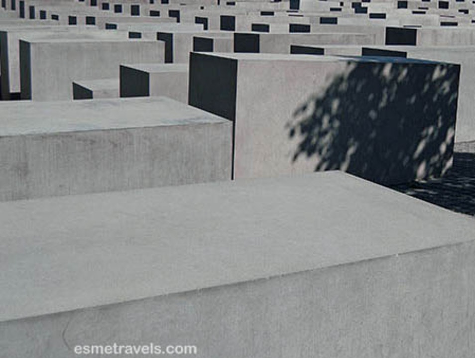 Somber Memorial  Berlin  Germany