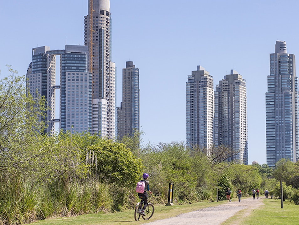 Costanera Sur Ecological Reserve Buenos Aires  Argentina