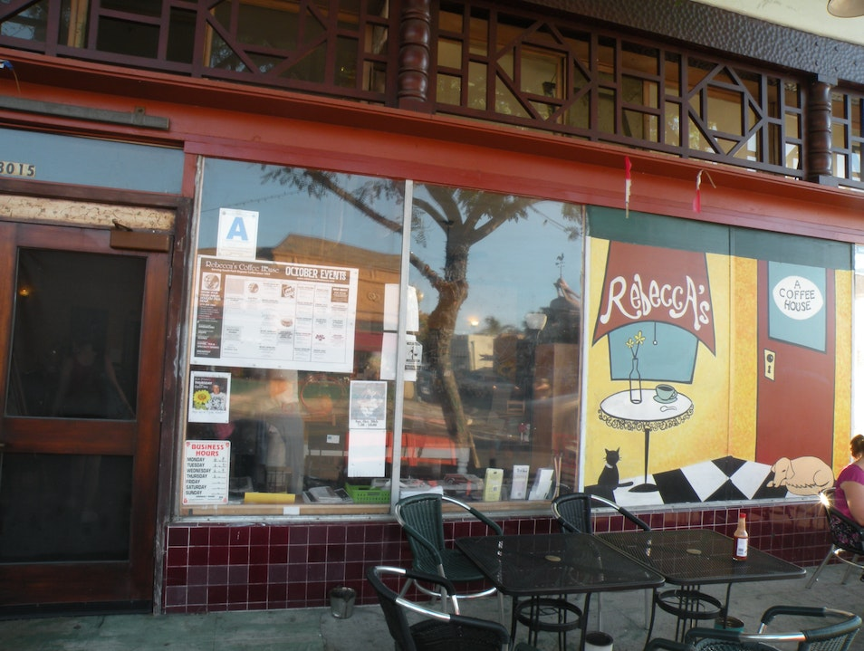 Eclectic coffee shop in the neighborhood of South Park, San Diego