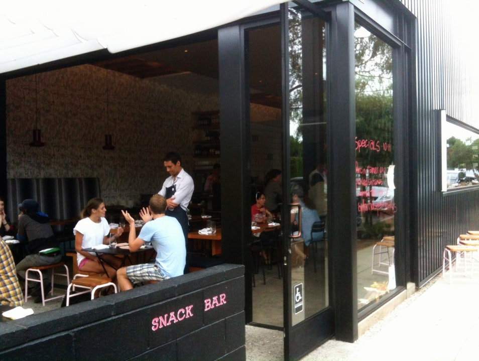 Venice Snack Bar That Lives Up to Its Name