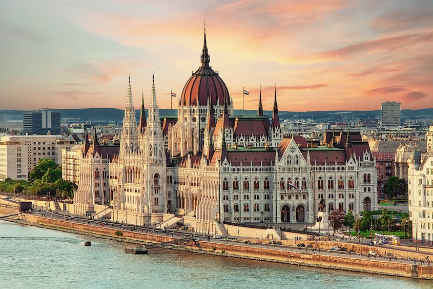 Get into the heart of great European cities such as Budapest on a Danube river cruise.