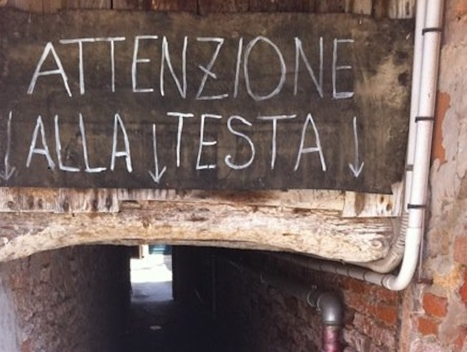 Peace of mind (but watch your head) in Castello