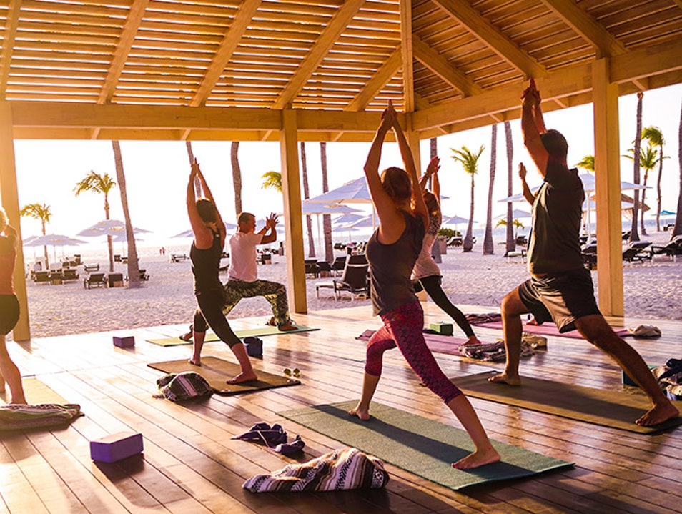 Yoga Studios at Manchebo Beach Resort & Spa  Oranjestad West  Aruba
