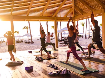 Yoga Studios at Manchebo Beach Resort & Spa  Oranjestad  Aruba