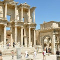 Celsus Library Acarlar Köyü  Turkey