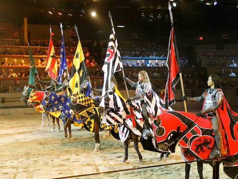 Get the Royal Treatment at Medieval Times