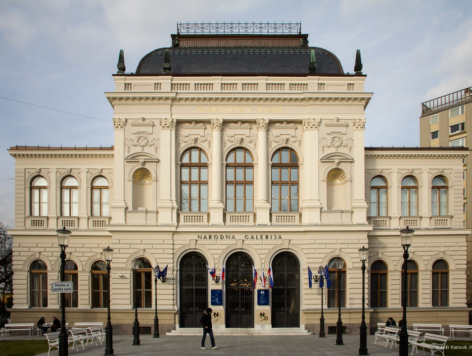 Slovenia's National Gallery of Art Re-opened after Four Year Renovation Ljubljana  Slovenia