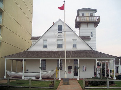 Old Coast Guard Station Virginia Beach Virginia United States