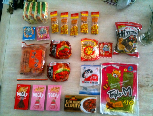 Typical Singaporean Snacks