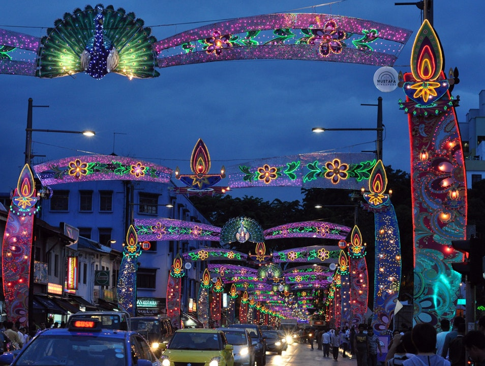 All lit up for Deepavali Singapore  Singapore