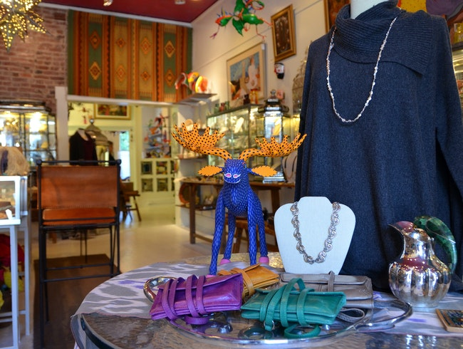 Beautiful Clothes, Jewelry, and Objets d'Art at the Phoenix