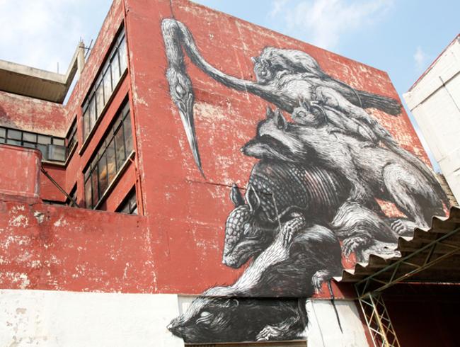 Big-Name Street Artists in Mexico City