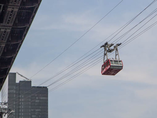Take a ride on the Roosevelt Island Tramway