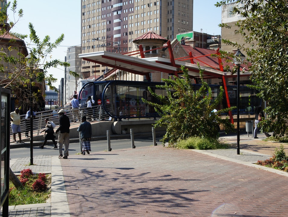 Is it a bus or a train? Johannesburg  South Africa
