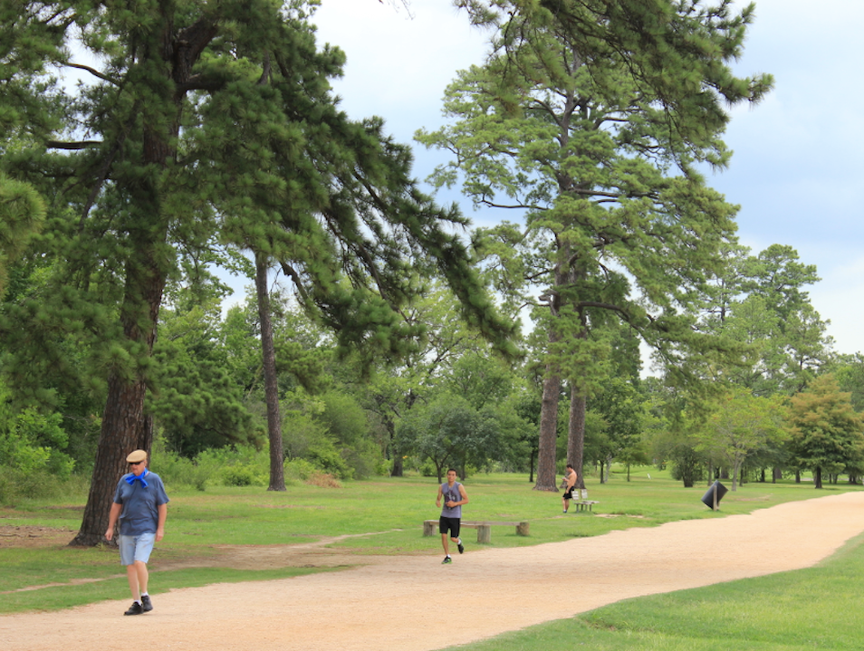 Run or Walk the Natural Trails of Memorial Park