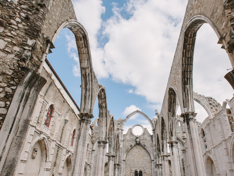 The Ruins of Carmo Convent and Church