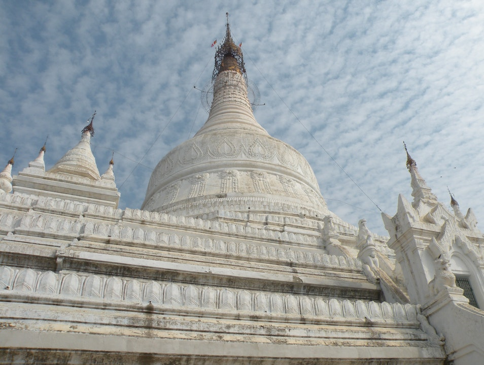 Pure White atmosphere Mandalay  Myanmar
