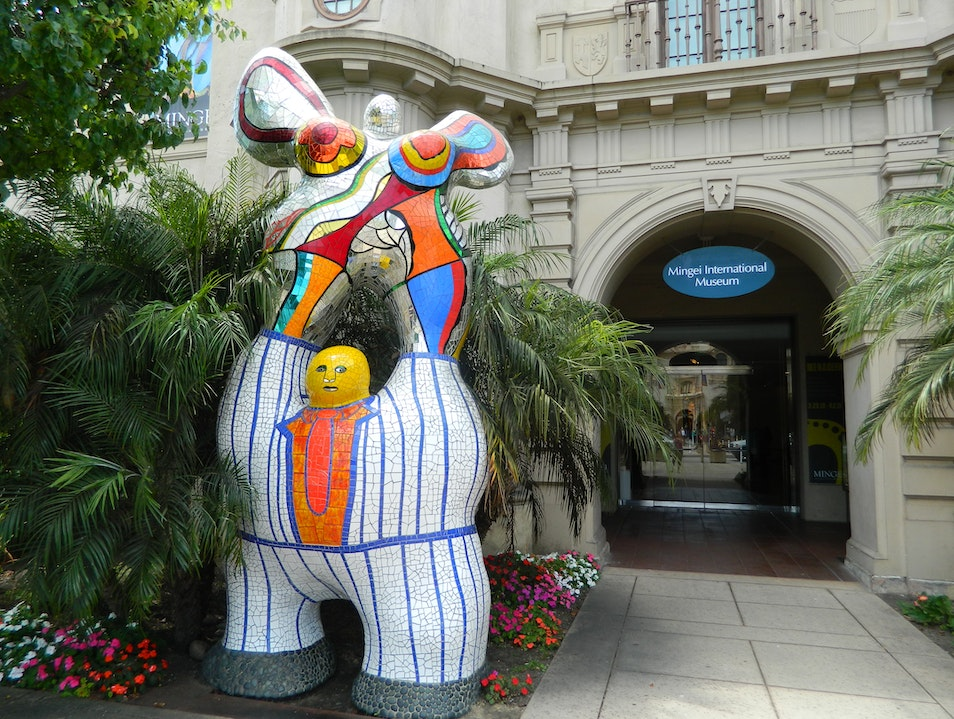 Museum featuring beautiful folk art from around the world. San Diego California United States