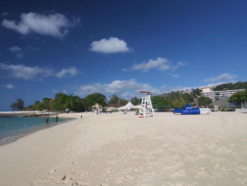 Cornwall Beach Montego Bay  Jamaica