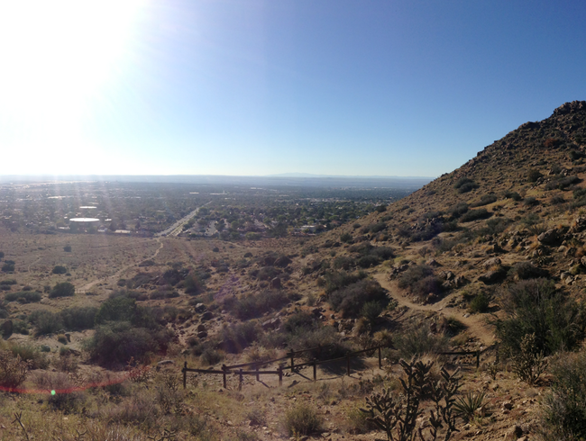 Easy Hike to an ABQ Vista