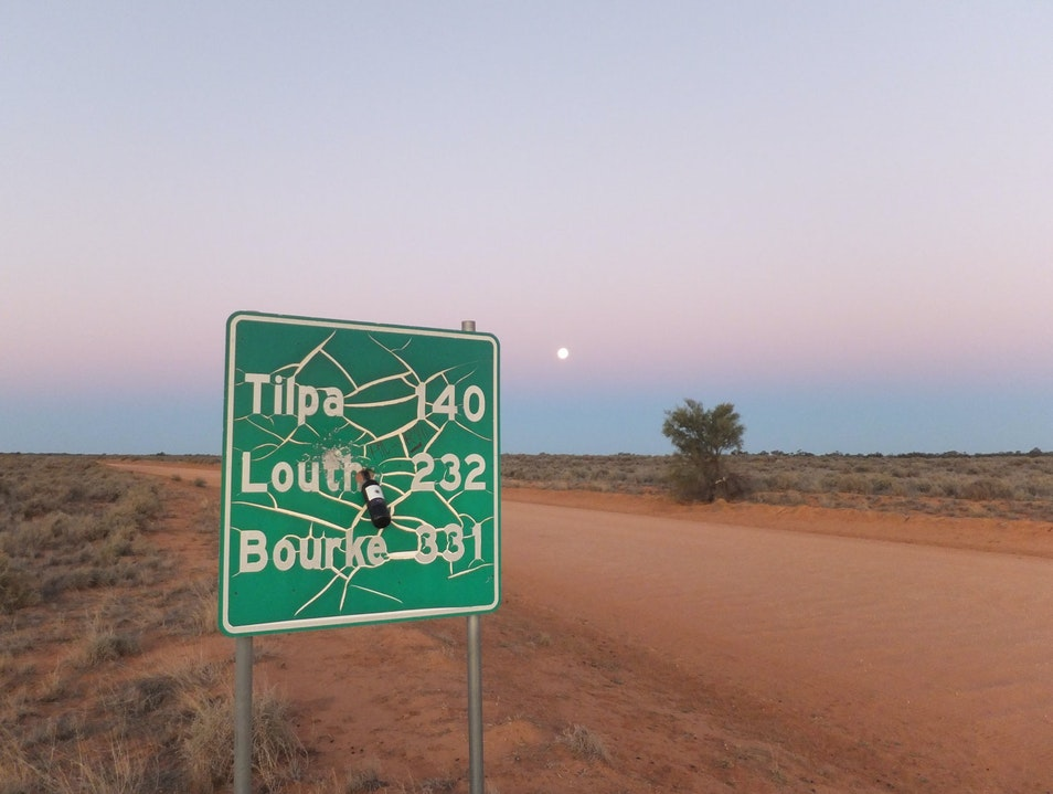 The Wilcannia-Bourke Rd, April 2013