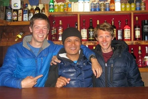 Liquid Bar in Namche Bazaar, Nepal