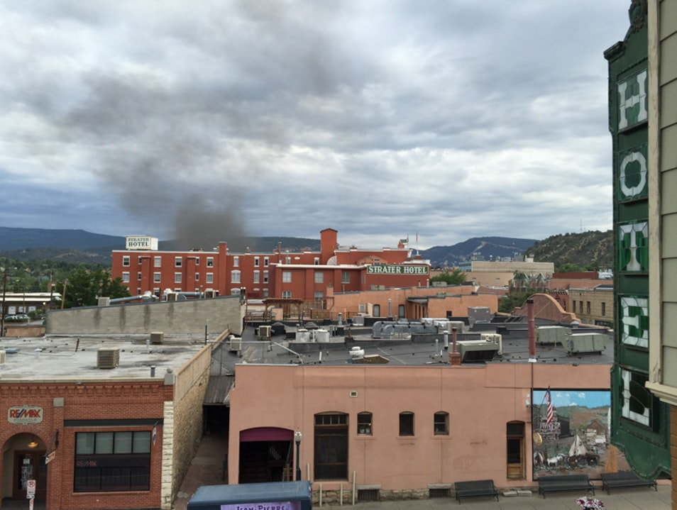 Classy old digs in Durango: The General Palmer and The Strater Hotels