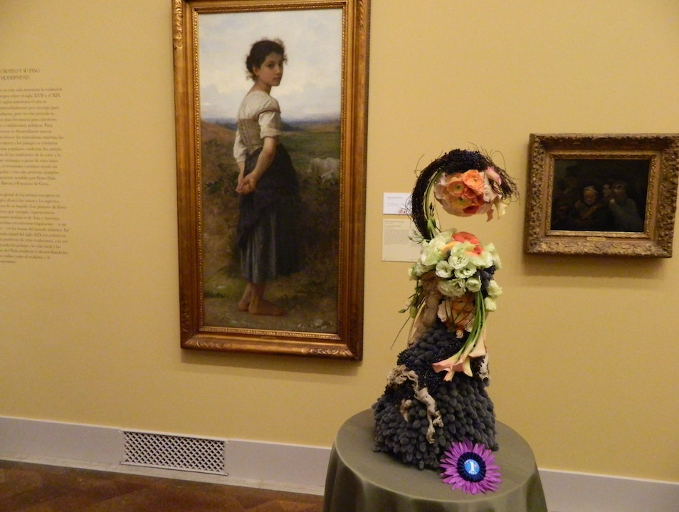 Bringing art alive with flowers