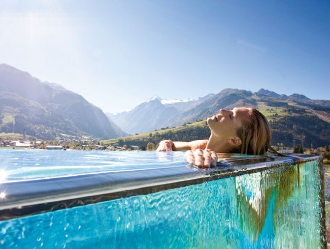 Unwind at an Alpine Spa