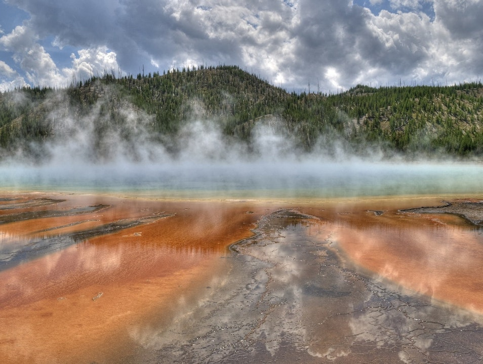 Yellowstone National Park for all seasons  Yellowstone National Park Wyoming United States