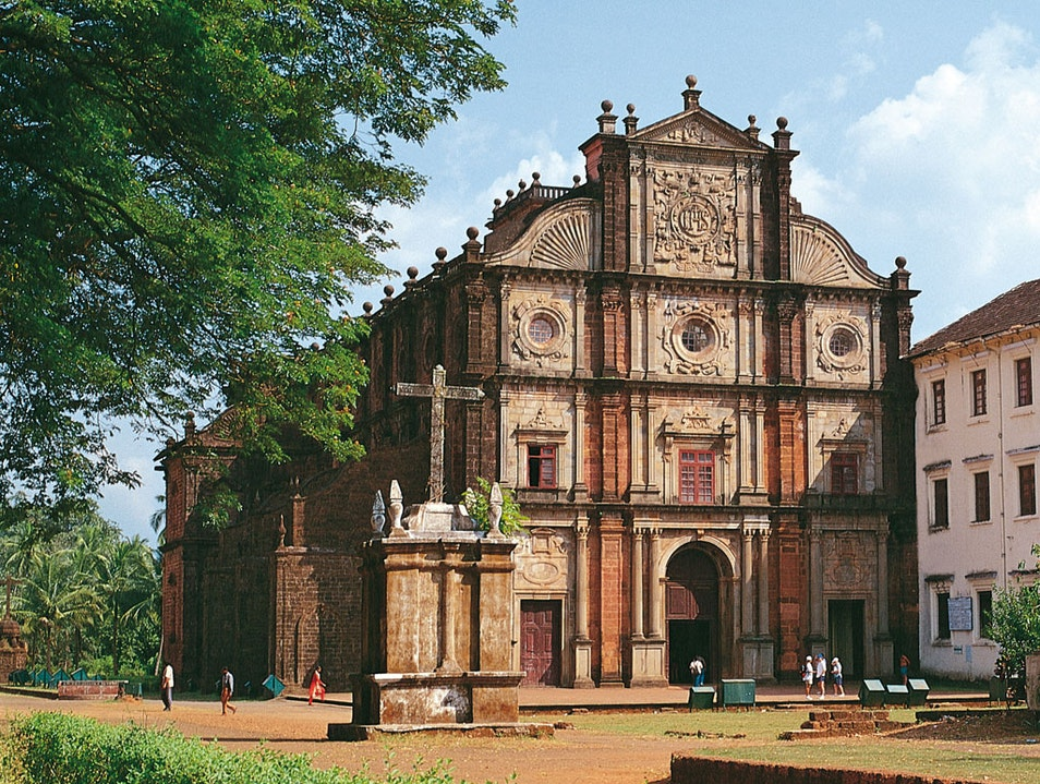 World Heritage in Churches and Convents of Goa Velha Goa  India