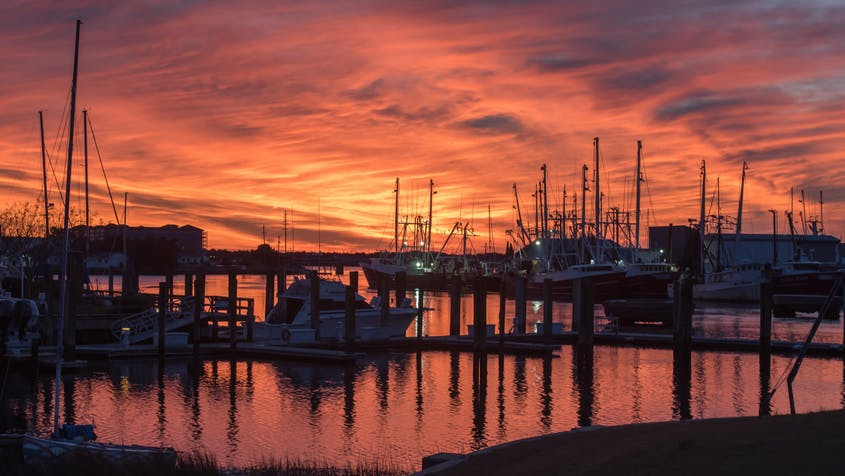 Beaufort, the third-oldest town in North Carolina, is full of maritime history.