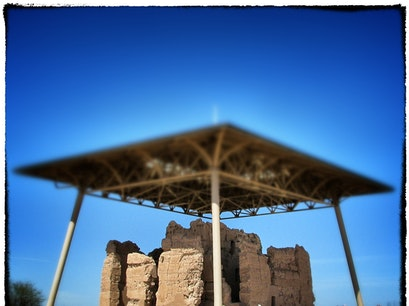 Casa Grande Ruins National Monument Coolidge Arizona United States