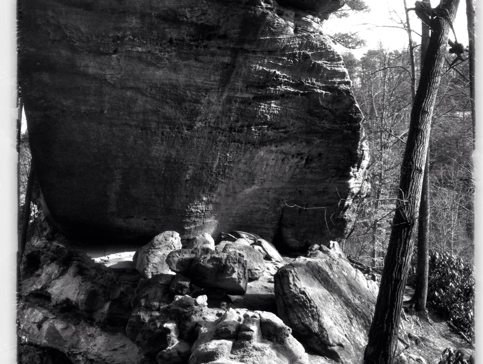 Gray's Arch Frenchburg Kentucky United States