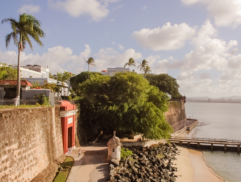 Historic City Walls of Old San Juan