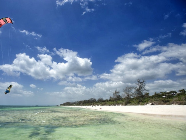 Kite-surfing, snorkelling and relaxing in peaceful Watamu...