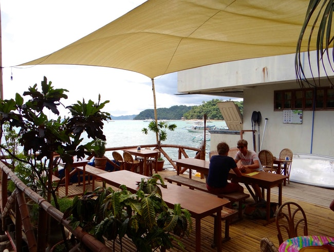 Seaside Cafe & Restaurant in El Nido