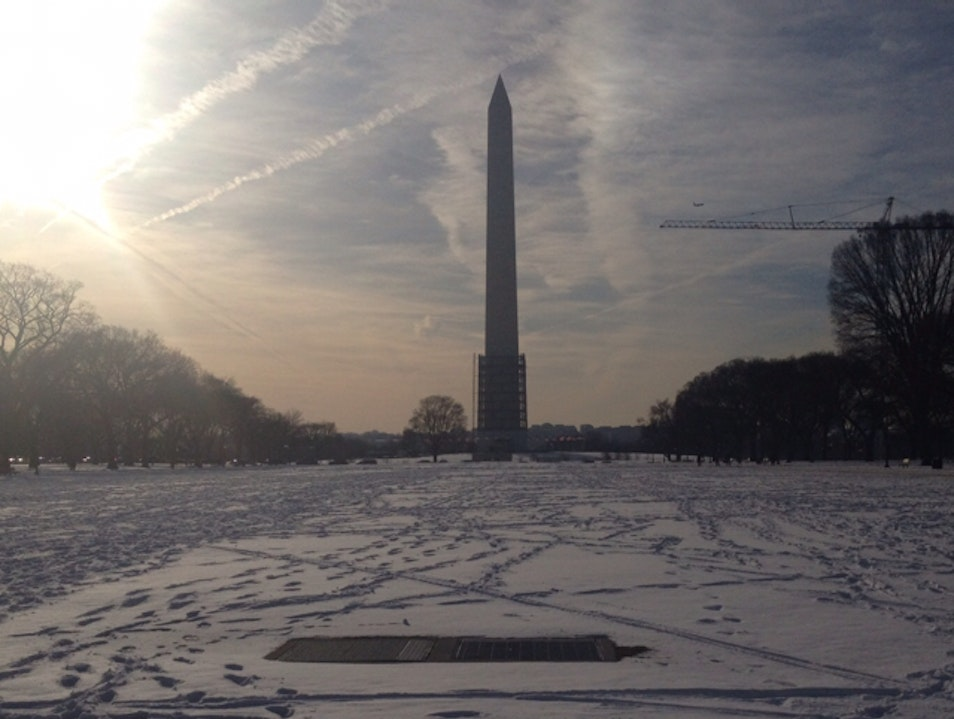 Calm after the storm  Washington, D.C. District of Columbia United States