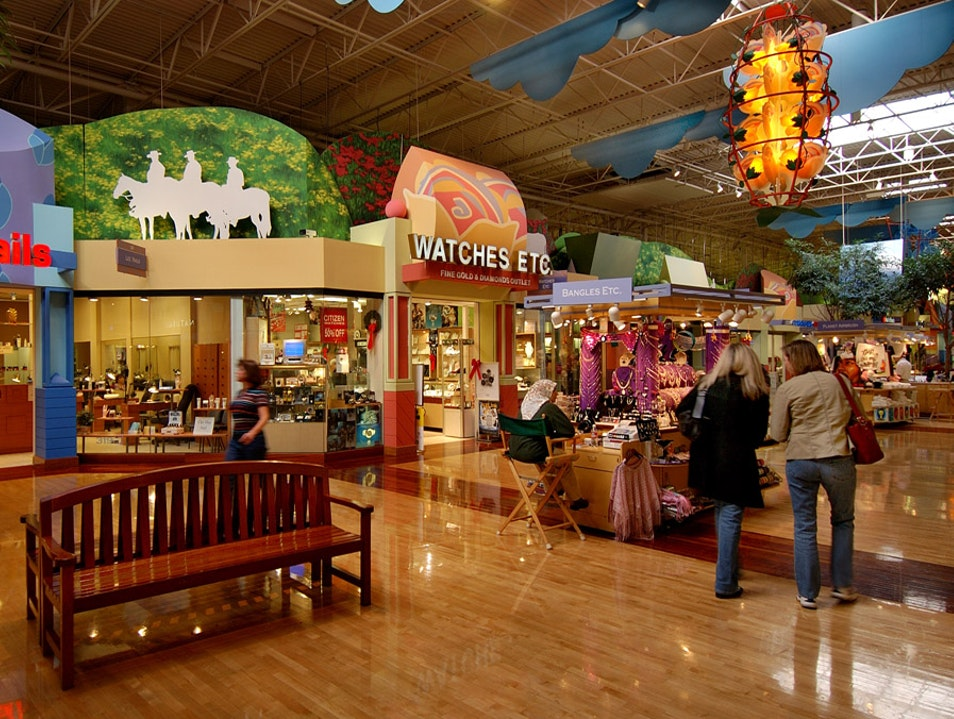 A Mall That's The Size Of Texas Grapevine Texas United States