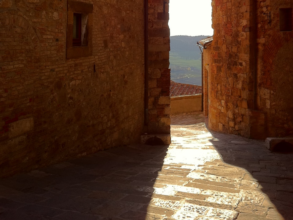 A town with stunning views Montepulciano  Italy