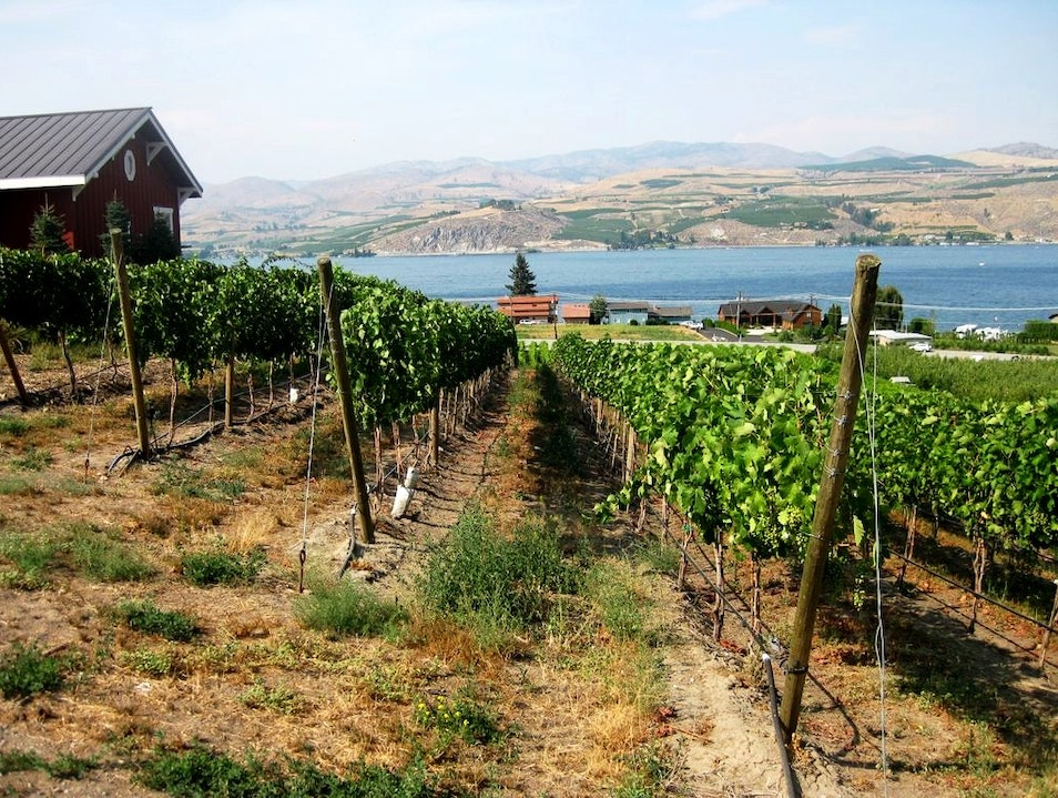 "The ""Other"" Washington Wine Country - Lake Chelan Chelan Washington United States"