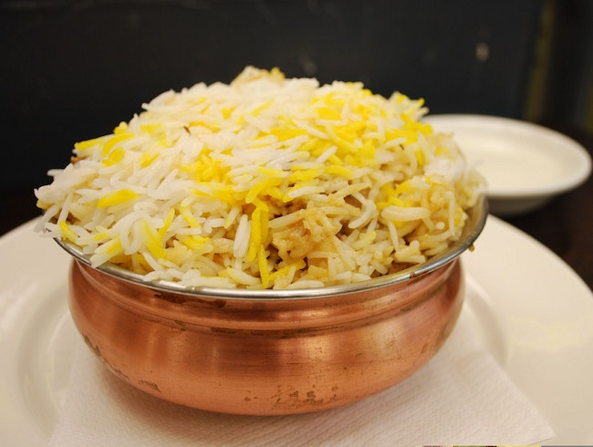 Try Biryani at Paradise Food Court