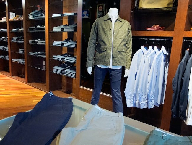 A Denim Boutique Just for Men