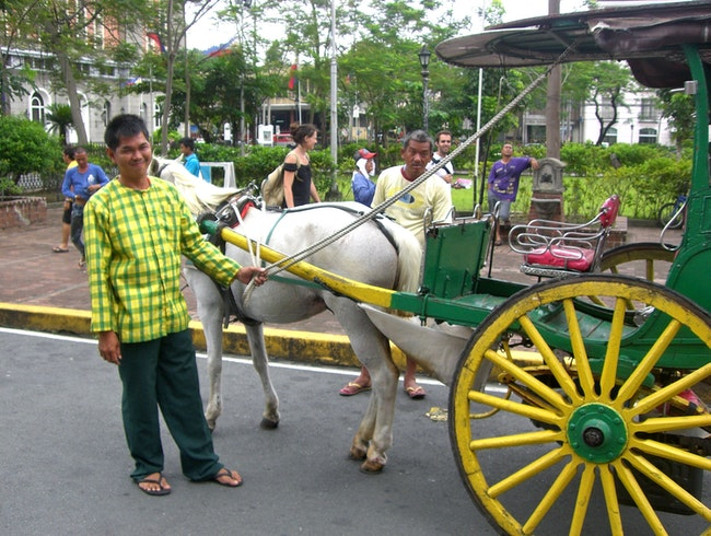 See Manila's old city in a Kalesa