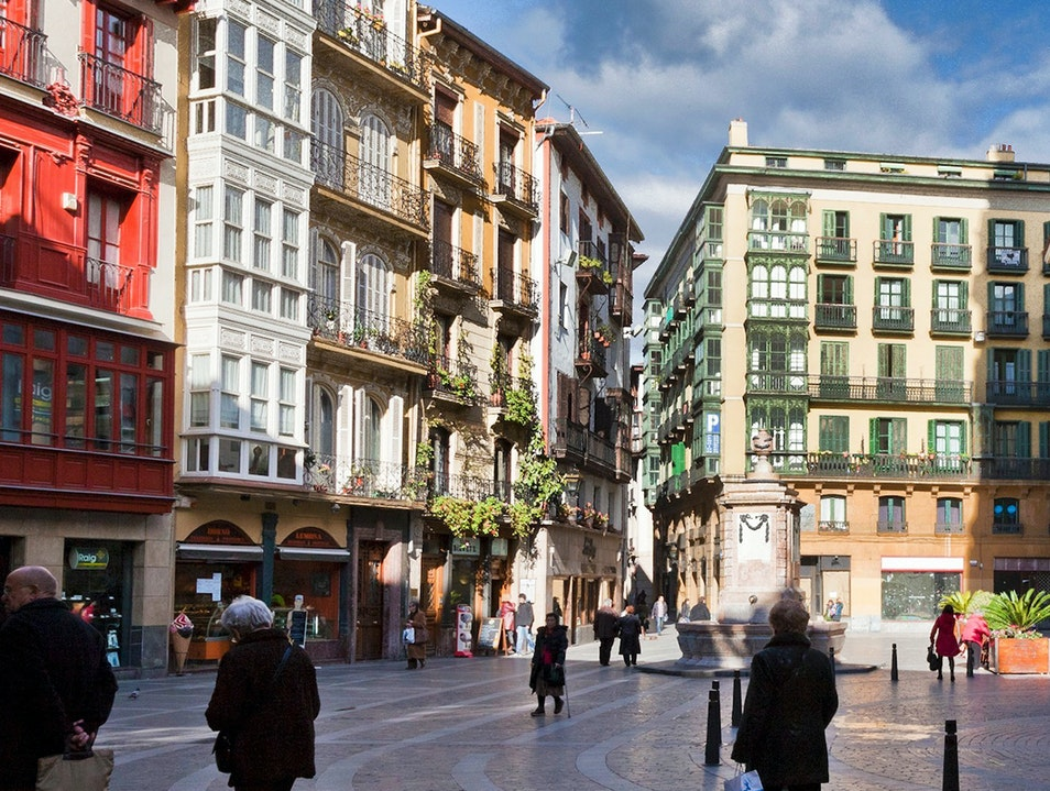 Old Town Bilbao  Spain